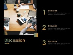 Discussion Ppt PowerPoint Presentation Pictures Example