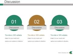 Discussion Ppt PowerPoint Presentation Portfolio Guide