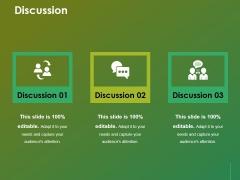 Discussion Ppt Powerpoint Presentation Portfolio Slides