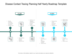 Disease Contact Tracing Planning Half Yearly Roadmap Template Guidelines