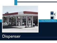 Dispenser Leaf Symbol Gas Station Ppt PowerPoint Presentation Complete Deck
