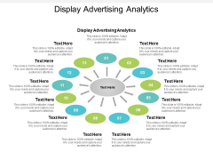 Display Advertising Analytics Ppt PowerPoint Presentation Infographic Template Graphics Cpb