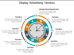 Display Advertising Vendors Ppt PowerPoint Presentation Summary Show Cpb