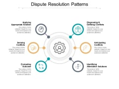 Dispute Resolution Patterns Ppt PowerPoint Presentation Pictures Design Inspiration