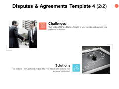 Disputes And Agreements Template Maze Ppt PowerPoint Presentation Pictures Demonstration