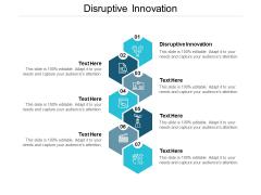Disruptive Innovation Ppt PowerPoint Presentation Outline Mockup Cpb