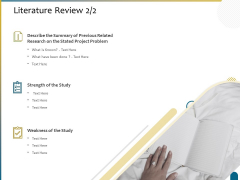 Dissertation Research Literature Review Ppt Professional Show PDF