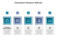 Dissertation Research Methods Ppt PowerPoint Presentation Gallery Tips Cpb Pdf