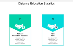 Distance Education Statistics Ppt PowerPoint Presentation Outline Layout Cpb