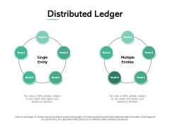 Distributed Ledger Circular Process Ppt PowerPoint Presentation Infographics Icons