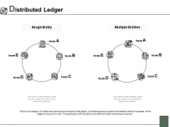 Distributed Ledger Ppt PowerPoint Presentation Summary Template
