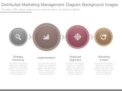 Distributed Marketing Management Diagram Background Images
