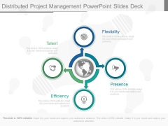Distributed Project Management Powerpoint Slides Deck