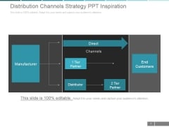 Distribution Channels Strategy Ppt PowerPoint Presentation Guidelines