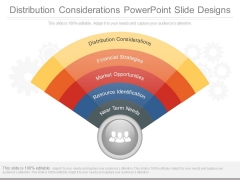 Distribution Considerations Powerpoint Slide Designs