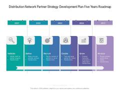 Distribution Network Partner Strategy Development Plan Five Years Roadmap Designs
