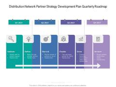 Distribution Network Partner Strategy Development Plan Quarterly Roadmap Download