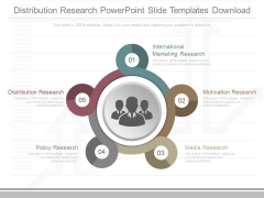 Distribution Research Powerpoint Slide Templates Download