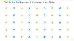 Distributor Entitlement Initiatives Icon Slide Microsoft PDF