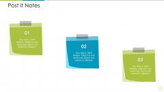 Distributor Entitlement Initiatives Post It Notes Sample PDF