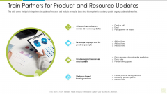 Distributor Entitlement Initiatives Train Partners For Product And Resource Updates Structure PDF