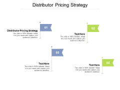Distributor Pricing Strategy Ppt PowerPoint Presentation Icon Show Cpb