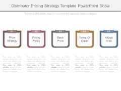 Distributor Pricing Strategy Template Powerpoint Show