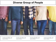 Diverse Group Of People Ppt Powerpoint Presentation Professional Example Topics