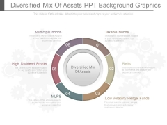 Diversified Mix Of Assets Ppt Background Graphics