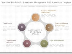 Diversified Portfolio For Investment Management Ppt Powerpoint Graphics