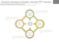 Diversify Business Activities Sample Ppt Sample