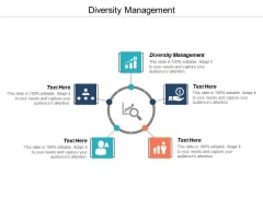 Diversity Management Ppt PowerPoint Presentation Gallery Professional Cpb