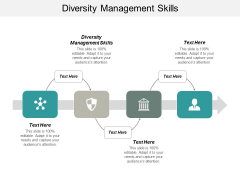 Diversity Management Skills Ppt PowerPoint Presentation Ideas Tips Cpb