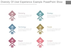Diversity Of User Experience Example Powerpoint Show