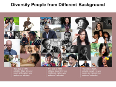 Diversity People From Different Background Ppt Powerpoint Presentation Inspiration Elements