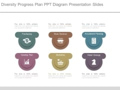 Diversity Progress Plan Ppt Diagram Presentation Slides