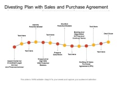 Divesting Plan With Sales And Purchase Agreement Ppt PowerPoint Presentation Icon Layouts PDF