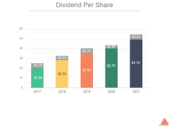 Dividend Per Share Ppt PowerPoint Presentation Pictures