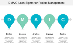 Dmaic Lean Sigma For Project Management Ppt PowerPoint Presentation Infographic Template Graphics Download