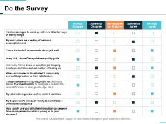 do the survey ppt powerpoint presentation professional infographic template