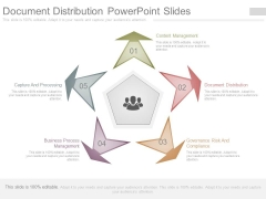 Document Distribution Powerpoint Slides