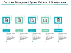 Document Management System Retrieval And Obsolescence Ppt PowerPoint Presentation File Structure