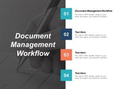 Document Management Workflow Ppt PowerPoint Presentation Portfolio Clipart Cpb