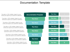 Documentation Template Ppt PowerPoint Presentation Gallery Inspiration Cpb