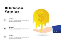 Dollar Inflation Vector Icon Ppt PowerPoint Presentation Portfolio Mockup PDF