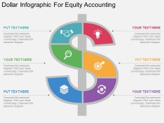 Dollar Infographic For Equity Accounting Powerpoint Template