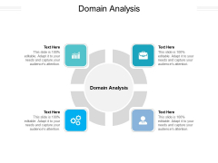 Domain Analysis Ppt PowerPoint Presentation Outline Shapes Cpb Pdf