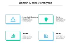 Domain Model Stereotypes Ppt PowerPoint Presentation File Smartart Cpb Pdf