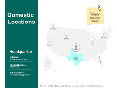 Domestic Locations Geographical Ppt PowerPoint Presentation Show Tips
