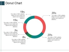Donut Chart Ppt Powerpoint Presentation Layouts Icons